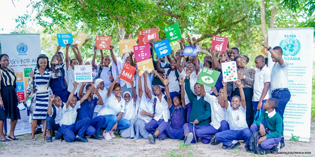 UNA TANZANIA REACHES OUT TO YOUNG PEOPLE IN SCHOOLS ON THE SUSTAINABLE DEVELOPMENT