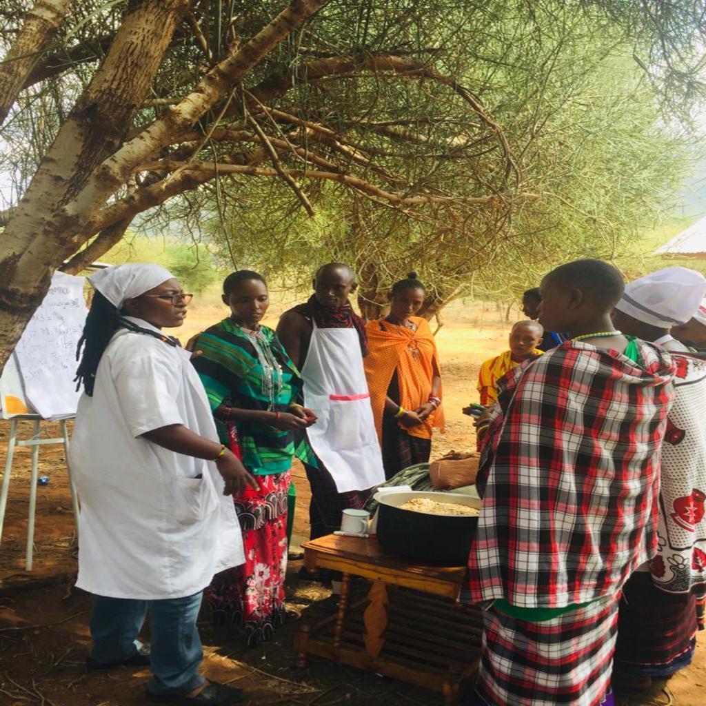 UNA TANZANIA FOLLOW UP VISITS TO 10% BENEFICIARIES